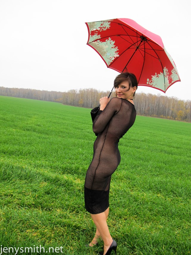 Opinion you Umbrella girl nude in public with