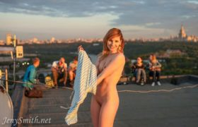 Free Gallery: Jeny Smith Rooftop Photoshoot Pics!