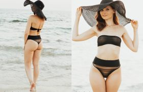 Free Photo Gallery: Jeny Smith Beach Swim Suit Shoot