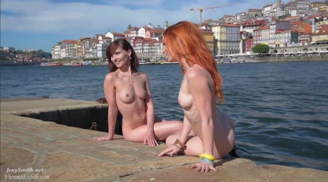 Free Video: Jeny Smith and Vienna Love Nude in Public