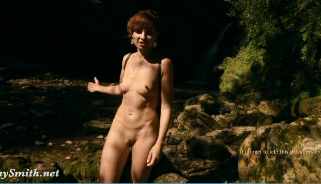 Jeny Smith Video: Naked Adventures Outdoors!