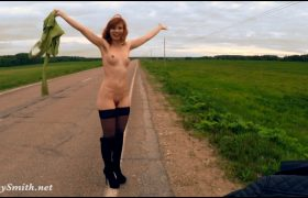 Free Video: Jeny Smith Public Nudity On The Road